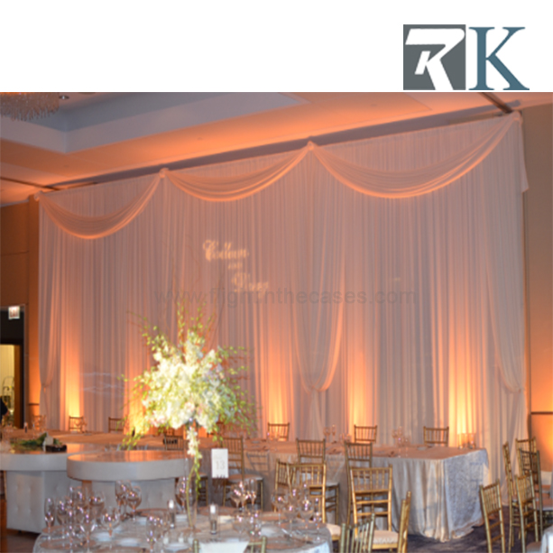 RK Wholesale Pole & Curtain Stand, Backdrop Pipe And Drape