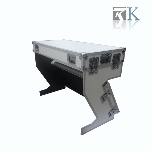 RK Portable Z-Style Fashion DJ table flight case Handles/Wheels