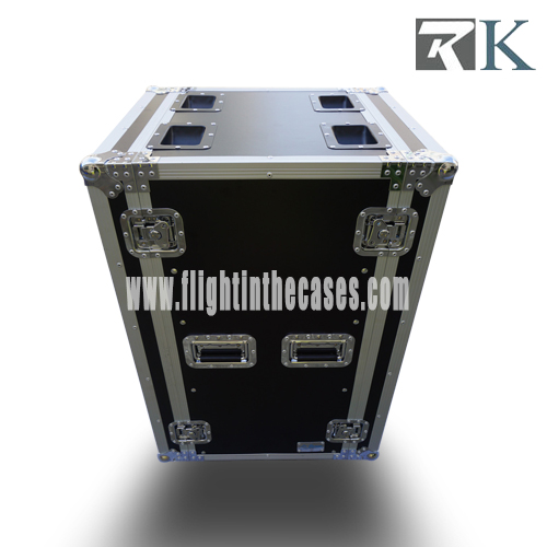 18U Amp Flight Rack Case - Musicians Gear Rack Flight Case