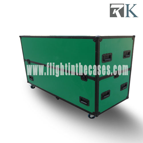 "Adjustable Plasma Flight Case for  2*60"" - 65"" Plasma"